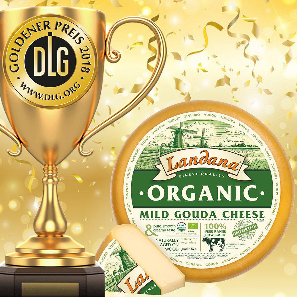 Landana Organic MILD awarded with GOLD!