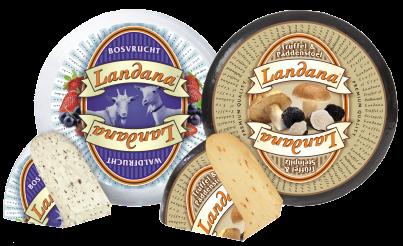 Landana TRUFFLE & CEP and goat cheese FOREST FRUIT