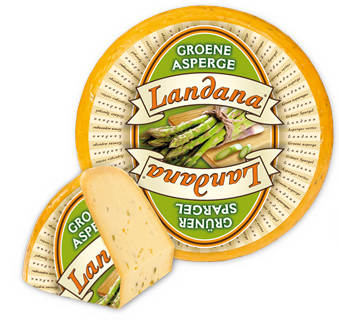 Landana cheese GREEN ASPARAGUS