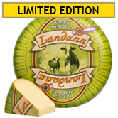 Landana Grass-fed Holland Gouda cheese