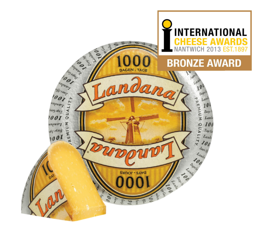 Landana 1000 DAYS one of Holland's top cheeses