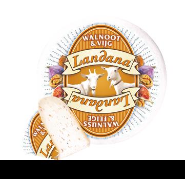 Landana Goats' cheese WALNUT & FIG