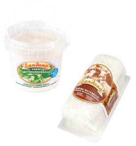 New varieties Landana soft goat cheese