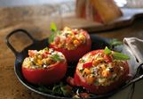 Stuffed chili tomatoes